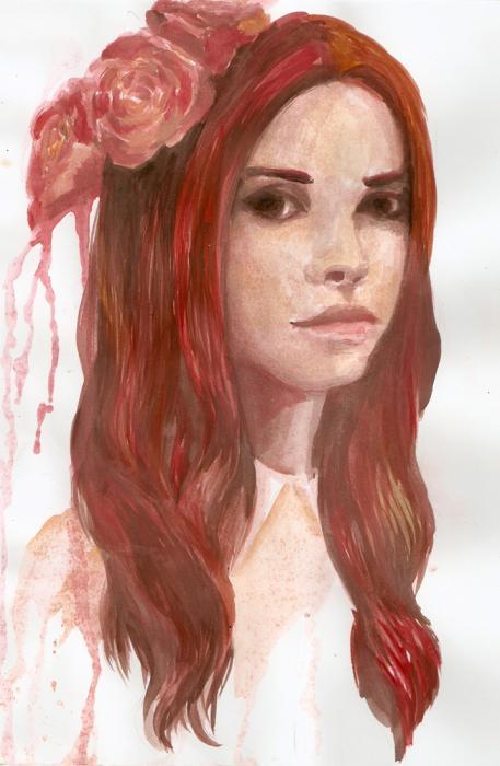Lana Del Rey por minka-impro